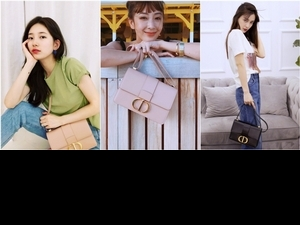 Dior 新成員30 Montaigne包太火! Angelababy、秀智、隋棠等10位女星搶曬 再次攻佔IG版面啦