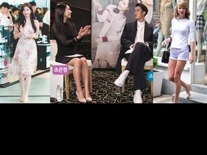 完全是鞋界中的白T!裸色跟鞋原來這麼百搭,就連蘇志燮女友也是穿著它採訪歐爸呀......