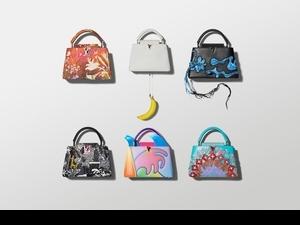 LV召集六位大藝術家合作Arty Capucines系列,女神手袋全球限量300件發售