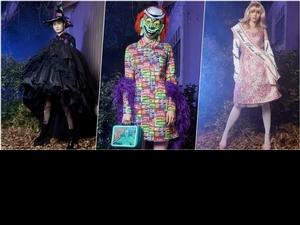不給糖就搗蛋!MOSCHINO 2020 早春女裝系列 居然是場午夜驚魂秀!
