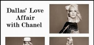 Dallas' Love Affair  with Chanel-印第安的幻想
