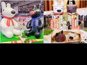 法國人氣繪本「麗莎和卡斯柏」20週年派對在台北!超巨型玩偶、全球限量商品、療癒餐點,粉絲快朝聖!