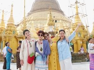 什麼都可比!大小S遊緬甸較勁人氣