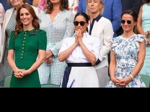 梅根王妃溫網比美凱特!妯娌同台堪稱一場時尚大片