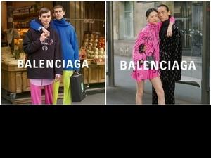 巴黎的情侶有多甜?巴黎世家Balenciaga捕捉微妙的浪漫