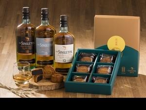 一口咬下是威士忌和餅皮香!蘇格登x舊振南聯名「威士忌月餅禮盒」三種風味大滿足
