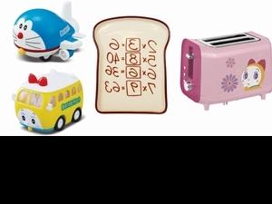 7-ELEVEN新一波集點是哆啦A夢!「造型巴士、記憶吐司盤、神奇翻頁時鐘」超萌道具限量必收!
