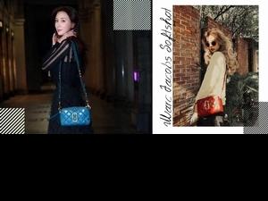 隨興一個回眸都好美!林志玲搶揹MJ Softshot新款包 為寒冬穿搭增添一抹色彩