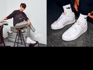 再次潮出新高度!張軒睿帥穿adidas Originals全新小白鞋,從頭到腳滿載時髦味