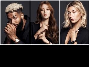 從小清新蛻變個性時髦!李聖經與Hailey Bieber霸氣宣告DW推出百搭鏈帶錶款