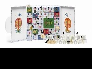 Diptyque太狂了~聖誕倒數月曆直接給你14顆蠟燭,還有今年上市的青蕨淡香水與香氛貼飾