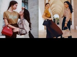 凱薩琳麗塔瓊絲與女兒共同演繹FENDI微電影,宛如姊妹般好暖好甜!