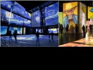 2020年最期待展覽!《再見梵谷-光影體驗展》台北、高雄登場,3層樓高環繞巨幕、3,000幅經典畫作,就像走入畫中!