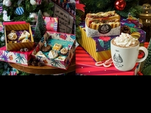 喝「拐杖糖熱可可」+吃「考雞莓果起司三明治」,免費獲得「Kiehl's 明星豪華 旅行瓶」,2019聖誕節必去 KIEHL'S COFFEE HOUSE!