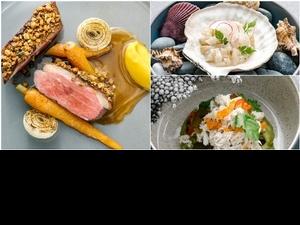 微風南山必吃推薦!「瑪黑餐酒」用蔥油餅、麵疙瘩打造法系餐食,搭配絕美茶酒百元就能吃到!