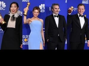 金球獎/「小丑」瓦昆菲尼克斯、「茱蒂」芮妮齊薇格奪戲劇類帝后! 《從前,有個好萊塢》獲3獎成大贏家
