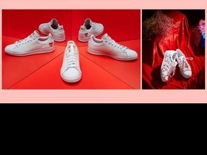 跟男友一起穿它過節去!adidas Originals推限定情人節鞋款,愛心小白鞋超可愛