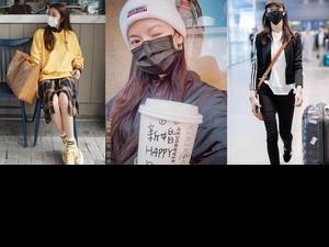 口罩買到了怎麼搭有精神一些?學女星們這樣戴不僅時髦還能有效防疫