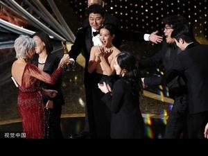奧斯卡得獎名單/亞洲第一部! 《寄生上流》創影史紀錄奪最佳影片 奉俊昊拿導演獎「喝到天亮」