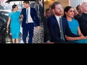 「哈利和梅根回倫敦了!」好萊塢規格秀恩愛狂放閃,選穿貝嫂設計美翻了