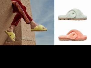 如糖果般療癒又可愛!UGG毛拖鞋全新粉嫩色 腳踩一雙瞬間變少女啦!