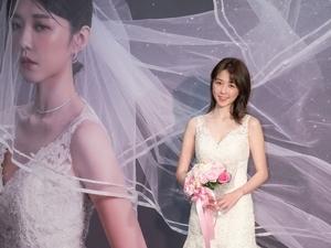 舞台劇新人邵雨薇穿婚紗見客 緊張到差點哭了