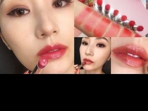 「唇膏上是閃閃惹人愛的星星啊~」Dior全新癮誘幸運星唇膏,一擦雙唇好澎好閃