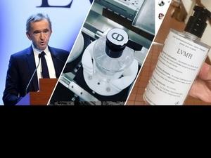 LVMH第一批抗疫產品上線,Dior瓶子裝載的抗菌洗手液,堪稱最美防疫神器!