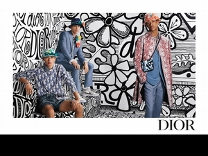 Dior攜手潮牌始祖Stussy早秋系列一次曝光 迷幻度假感潮味十足!