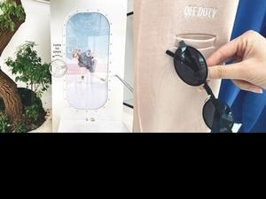 墨鏡收納袋設計超貼心!潮流品牌OFF DUTY限定櫥窗登台北,拍照打卡就能享優惠