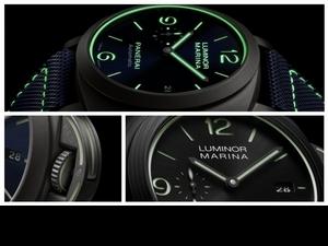 Watches & Wonders 2020 / 沛納海致敬夜光物料70周年 Luminor Marina Fibratech™一支錶款,三項創舉!