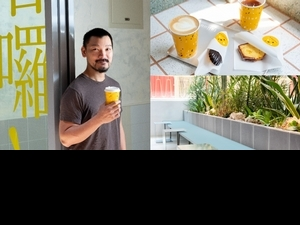 【職人咖啡館3】西門絕美咖啡廳「Cafe tailuu」竟有泳池、綠洲!主理人Thomas用粉嫩設計、療癒餐食創造老屋新活力