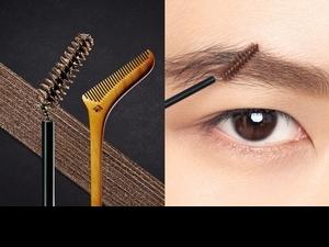 根據日本傳統櫛梳斜角設計,想打造3D霧眉效果用刷的更厲害!