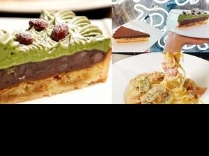 免排隊就能吃到人氣甜點!東區創義麵 x 深夜裡的法國手工甜點,2款超夯「生巧克力塔、萬丹紅豆抹茶」限定開賣