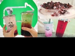莓果控必喝!迷客夏限定2款「桑葚莓果庫莉鮮奶、桑葚庫莉綠茶」手工熬煮+覆盆莓果汁,酸甜滋味會上癮