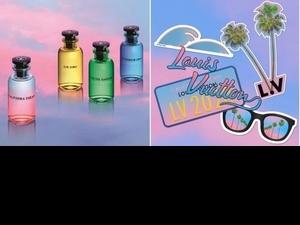 這漸層美呆了!LV全新California Dream古龍水系列,夕陽瓶身超夢幻