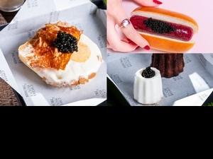 魚子醬冰淇淋只賣一個月!蜷尾家XCAVIAR HOUSE & PRUNIER推出4款奢華甜點,限定晶華酒店販售