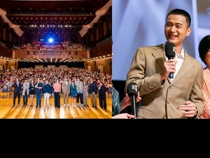 台北電影節開幕/《無聲》劉冠廷比手語太投入! 現場改詞被導演虧「有完沒完」