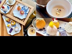 根本一秒飛日本!台北W紫艷酒吧 X Wedgwood打造日式下午茶,9道甜點、6款調飲配高空美景好療癒