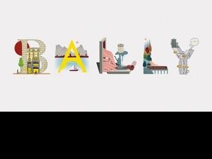 這插畫太有才!透過26個字母一窺Bally百年傳奇