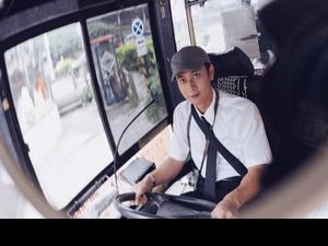 男主角不好當! 劉冠廷《消失的情人節》開公車上路「心臟跳很快」
