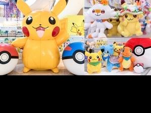 「寶可夢天堂」快閃店在高雄、台中!巨型皮卡丘引爆萌力,獨家販售日本Pokémon Center商品搶先看