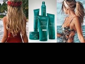 不管是陽光燒焦,還是過度染燙破壞的髮絲,通通交給Aveda花植結構系列來拯救