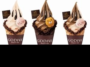 GODIVA x KAKAO FRIENDS夢幻聯名系列上市!限定口味「白桃茉莉霜淇淋」上是萌力爆表Ryan、Apeach
