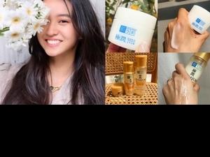 連木村光希都愛的「國民化妝水」《肌研極潤保濕化妝水》,容易乾燥的初秋肌膚,濕敷5分鐘肌膚立即發光