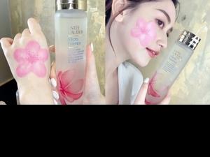櫻花水搭配櫻花濕敷膜超療愈, 同時終結肌膚水逆期,一舉兩得真的太棒了!