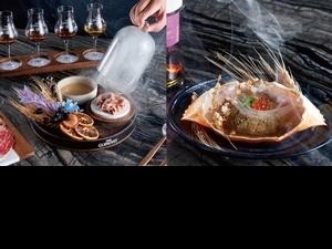 「威士忌+頂級鍋物」秋天吃剛好!格蘭利威X但馬家推出期間限定菜單,珍稀雪莉桶威士忌配上和牛太撩人