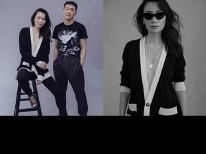 施名帥偕媒體第一名模    時尚體現人生無常
