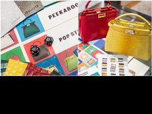 選包由骰子決定太趣味! FENDI Peekaboo Pop Studio 11/5正式登台,60種材料自由配搭!
