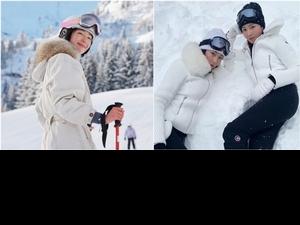 是鄭氏姊妹的最愛!Chloé與超人氣滑雪品牌Fusalp聯名,隋棠搶戴雪鏡也一同登場啦!